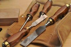 Tischler-Werkzeuge Stockbilder