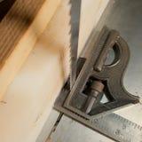 Tischler-Werkzeuge Lizenzfreies Stockbild