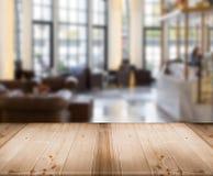 Tischplattebeschaffenheit für luxuary restutrant Shop der Anzeige und der Unschärfe Lizenzfreie Stockfotos