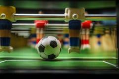 Tischplatten-Spiel Foosball stockfotografie