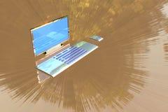 Tischrechner Lizenzfreies Stockbild
