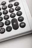 Tischrechner, Symbol von Geldgeschäften Lizenzfreies Stockfoto
