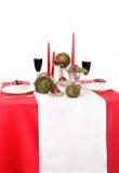 Tischschmuck mit Kerzen, MO Stockbilder