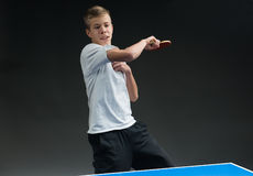 Tischtennis Stockfotografie