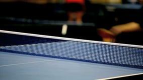 Tischtennis stock video