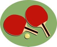 Tischtennis vektor abbildung