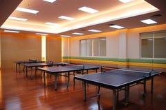 Tischtennisfeld Stockbilder