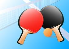 Tischtennishintergrund Stockbilder