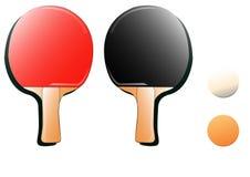 Tischtennishintergrund Lizenzfreie Stockbilder