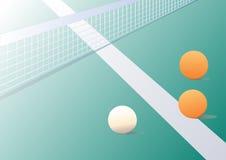 Tischtennishintergrund Stockfoto