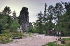 Tiske steny rockowy miasto w lata republika czech na 09th 2019 Czerwcu fotografia royalty free