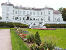 Tiskevicius slott, Litauen Arkivbilder