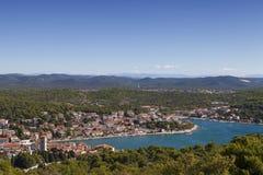 Tisno, Dalmacia, Croacia foto de archivo libre de regalías