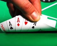 Poker Photo libre de droits