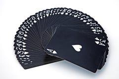 Tisonnier et jeux de hasard Photo stock