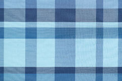 Tissé bleu, tissu d'Isaan Photographie stock libre de droits
