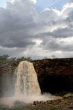 Tiss abay Falls on the Blue Nile river, Ethiopia Stock Images