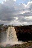 Tiss abay nedgångar på det blåa Nilet River, Etiopien Arkivbilder