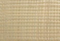 tissage de textura de paille Image libre de droits