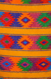 Tissage maya traditionnel coloré, Guatemala Image stock