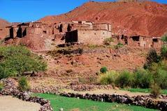 Tisselday,在提齐乌祖省n'Tichka附近。摩洛哥 免版税库存图片
