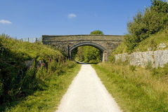Tissington trail Royalty Free Stock Photography
