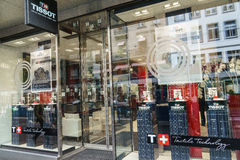 Tissot商店 免版税图库摄影