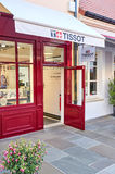 Tissot boutique in La Vallee Village. Stock Photography