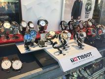 Tissot guarda per la vendita fotografie stock libere da diritti