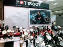 Tissot watches stock photo