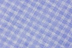 Tissu à carreaux classique pourpre images libres de droits