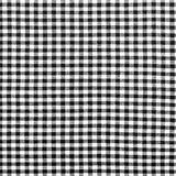 Tissu à carreaux noir et blanc Photographie stock libre de droits