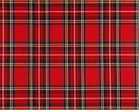 Tissu écossais Photo libre de droits