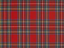 Tissu écossais, de haute résolution image stock
