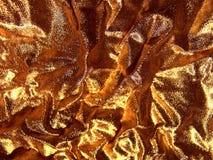 Tissu - or abstrait. Images libres de droits