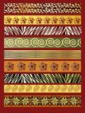Tissu africain illustration stock