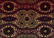 Tissu africain d'impression, ornement fait main ethnique pour vos éléments géométriques de motifs de conception, ethniques et tri Photographie stock
