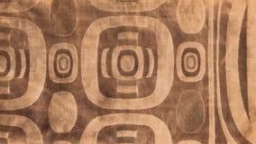 Tissu africain manufacturé (coton) Photos libres de droits