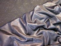 Tissu argenté photographie stock libre de droits