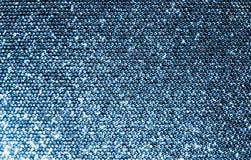 Tissu argenté de Sequins Photo libre de droits