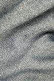 Tissu argenté lisse Photos stock