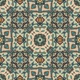Tissu Art Seamless Pattern ethnique Photographie stock