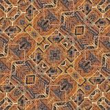 Tissu Art Seamless Pattern ethnique Images libres de droits