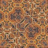 Tissu Art Seamless Pattern ethnique Images stock