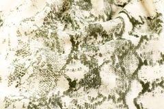 Tissu beige avec le modèle Images stock