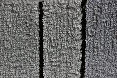 Tissu blanc ?pais avec les rayures verticales photo libre de droits