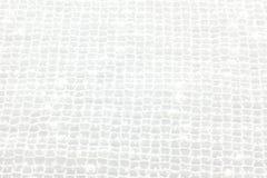 Tissu blanc Photographie stock libre de droits