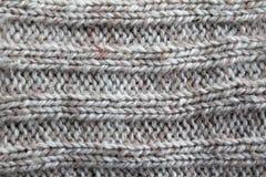 Tissu blanc de laines Images libres de droits