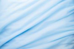 Tissu bleu élégant lisse images libres de droits