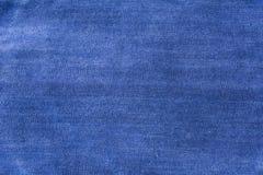 Tissu bleu de fond pour les sofas et la maison tapissés Photos stock